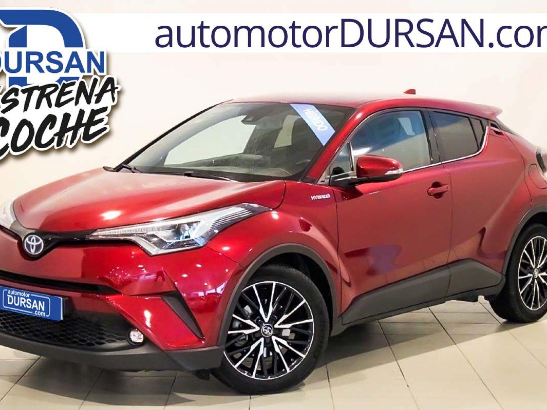 Toyota C-HR ocasión segunda mano 2018 Híbrido por 20.900€ en Madrid