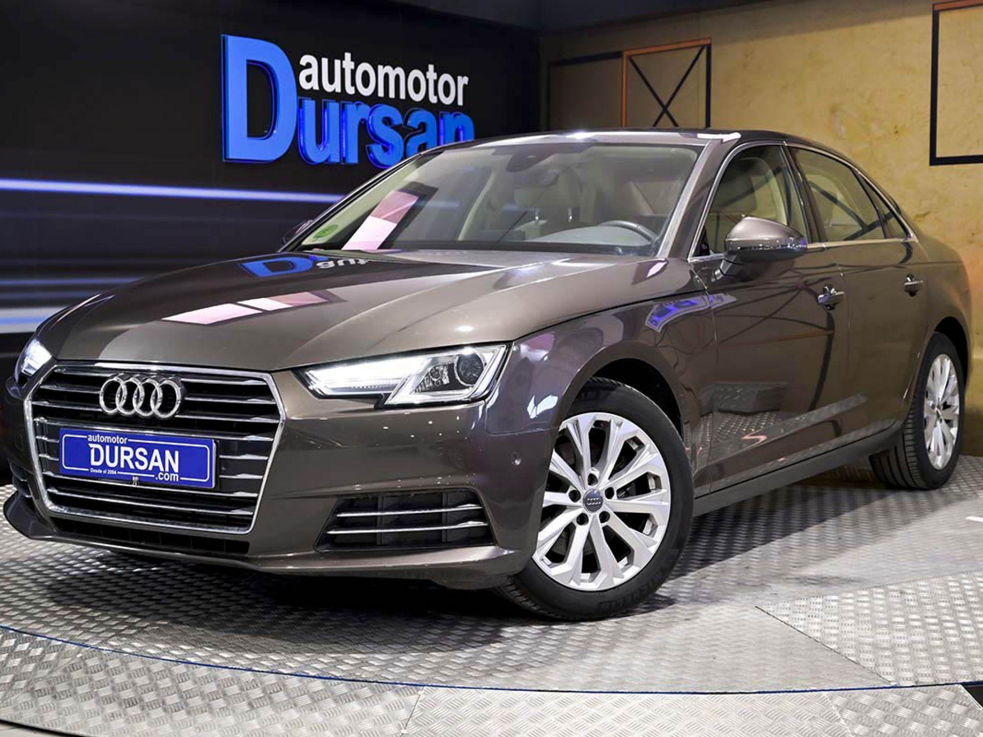 Audi A4 ocasión segunda mano 2016 Gasolina por 20.990€ en Madrid