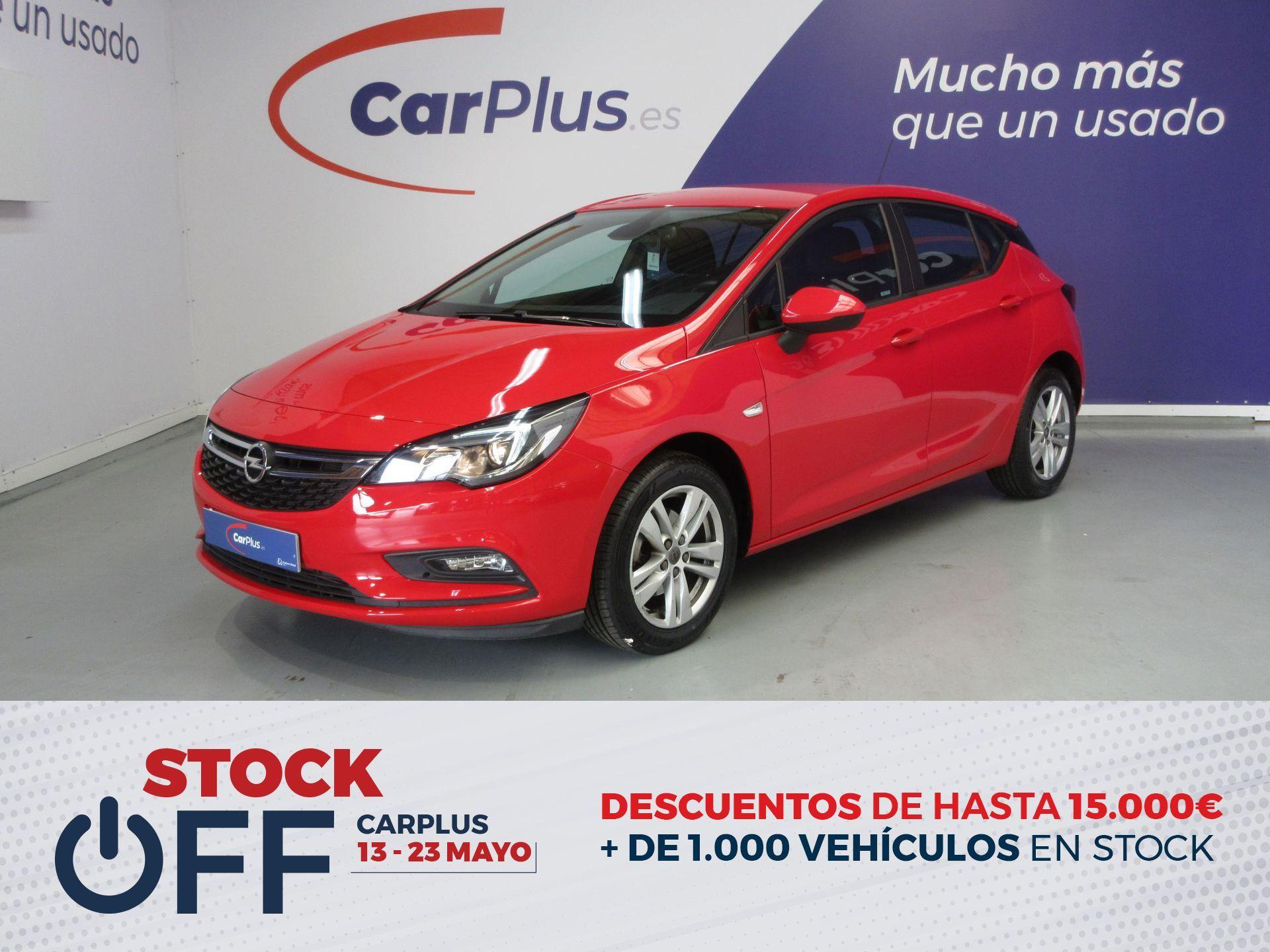 Opel Astra ocasión segunda mano 2017 Gasolina por 11.490€ en Madrid