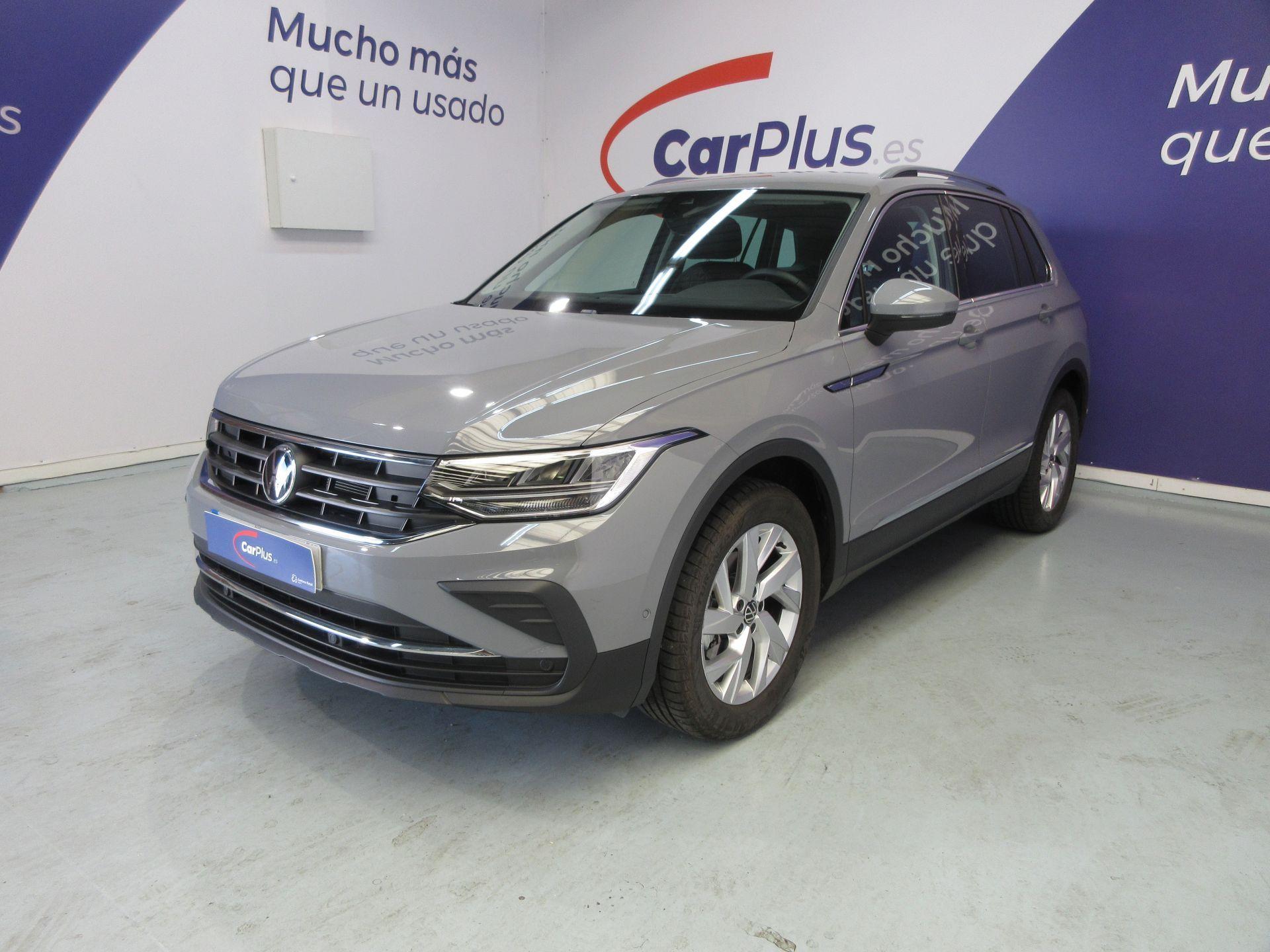 Volkswagen Tiguan ocasión segunda mano 2021 Gasolina por 29.490€ en Madrid