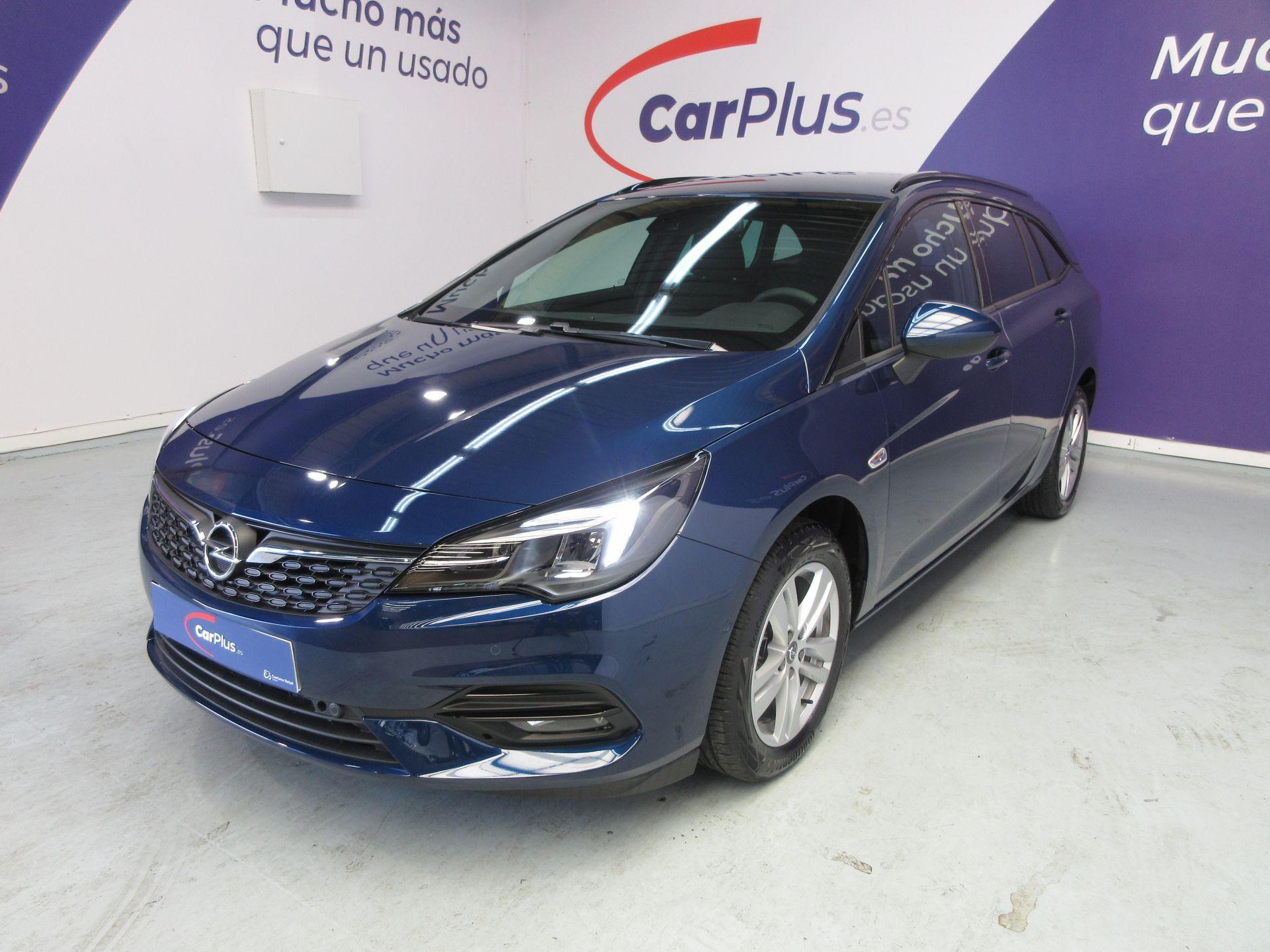 Opel Astra ocasión segunda mano 2021 Gasolina por 20.290€ en Madrid