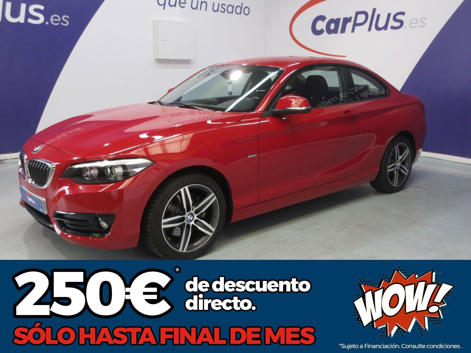 BMW Serie 2 ocasión segunda mano 2017 Diésel por 22.890€ en Madrid