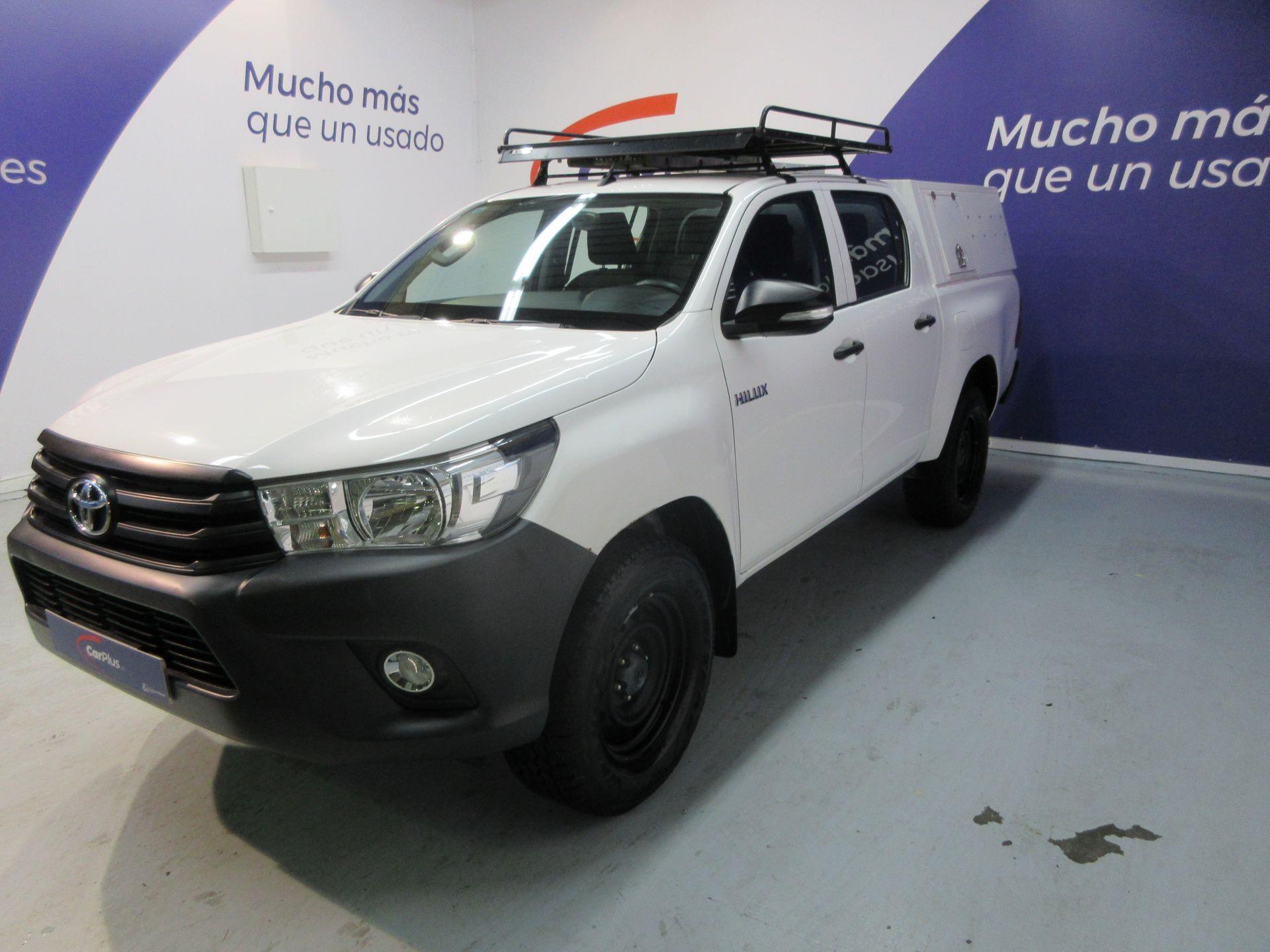Toyota Hilux ocasión segunda mano 2016 Diésel por 24.990€ en Madrid