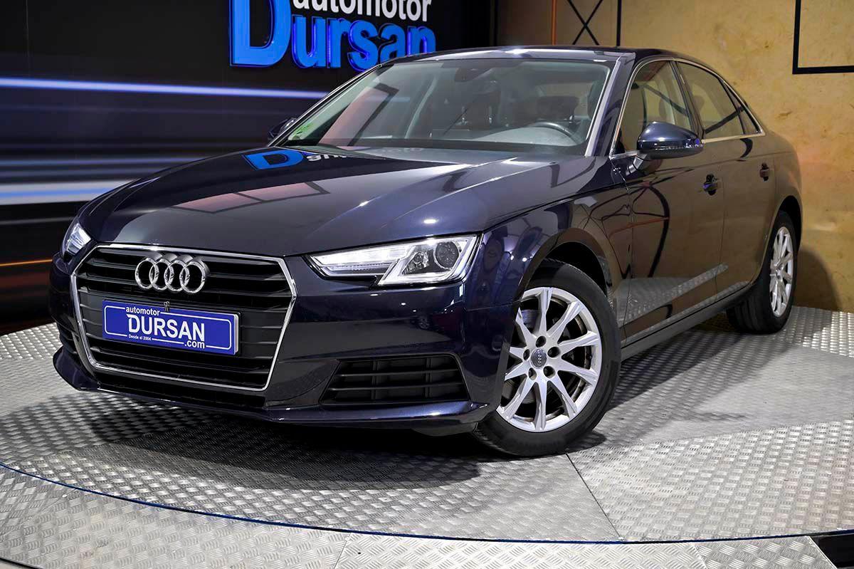Audi A4 ocasión segunda mano 2017 Diésel por 19.790€ en Madrid