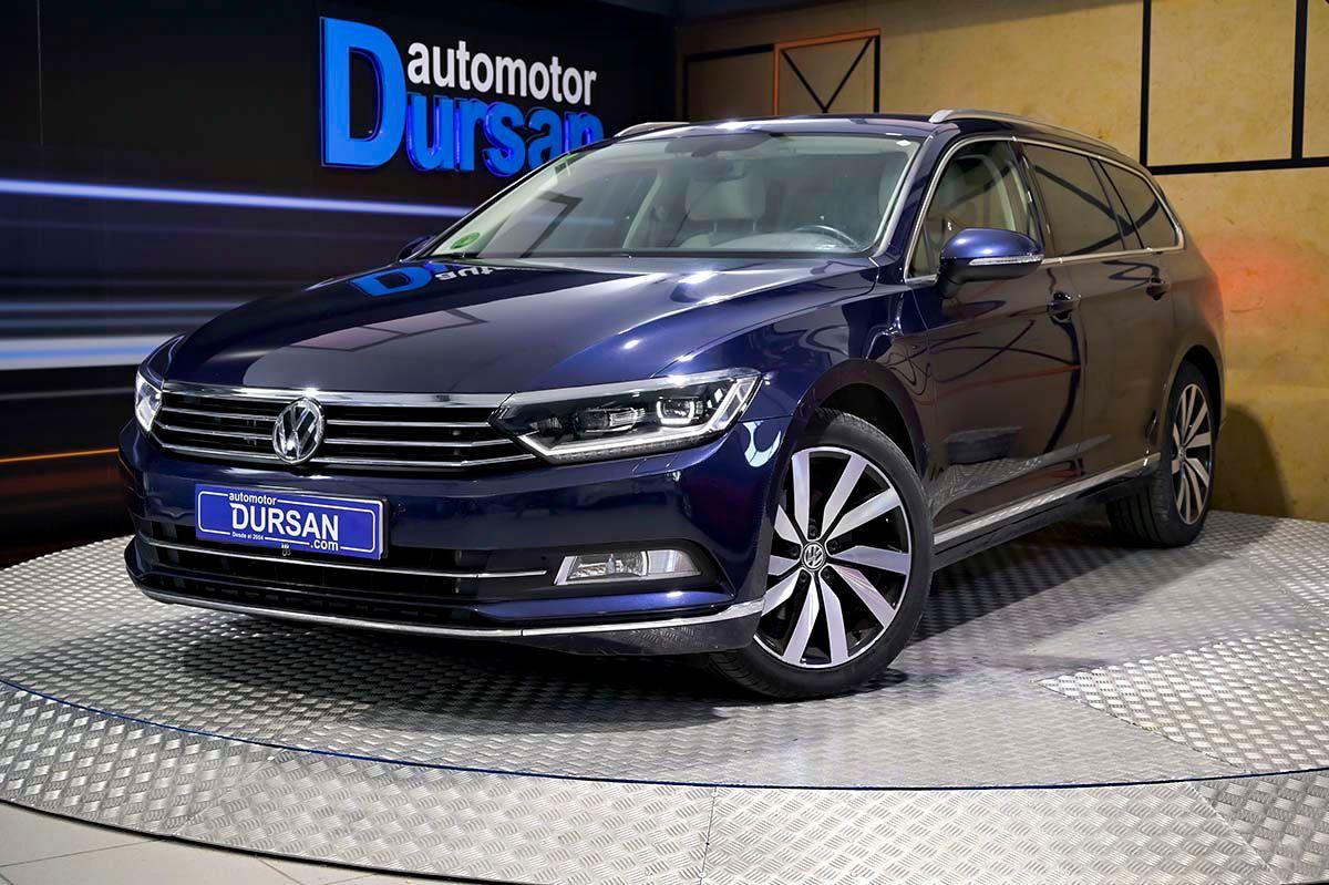 Volkswagen Passat ocasión segunda mano 2016 Diésel por 18.490€ en Madrid