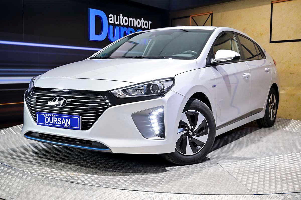 Hyundai IONIQ ocasión segunda mano 2018 Híbrido por 16.990€ en Madrid