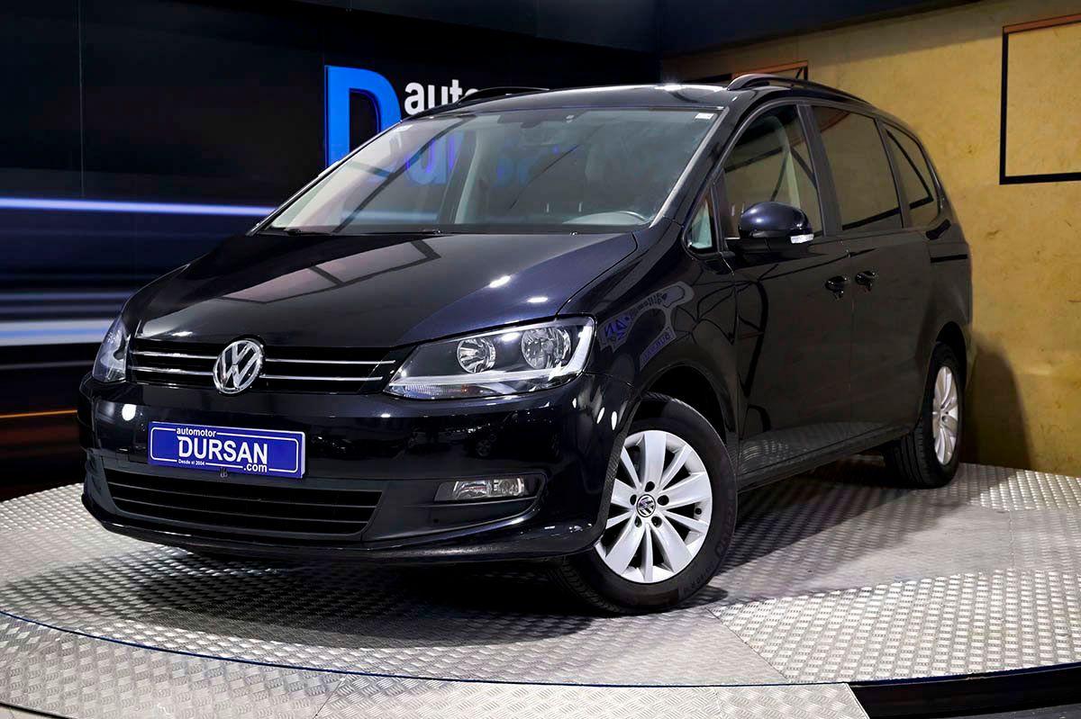 Volkswagen Sharan ocasión segunda mano 2017 Diésel por 22.990€ en Madrid