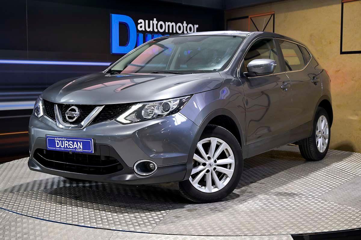 Nissan Qashqai ocasión segunda mano 2015 Diésel por 14.990€ en Madrid