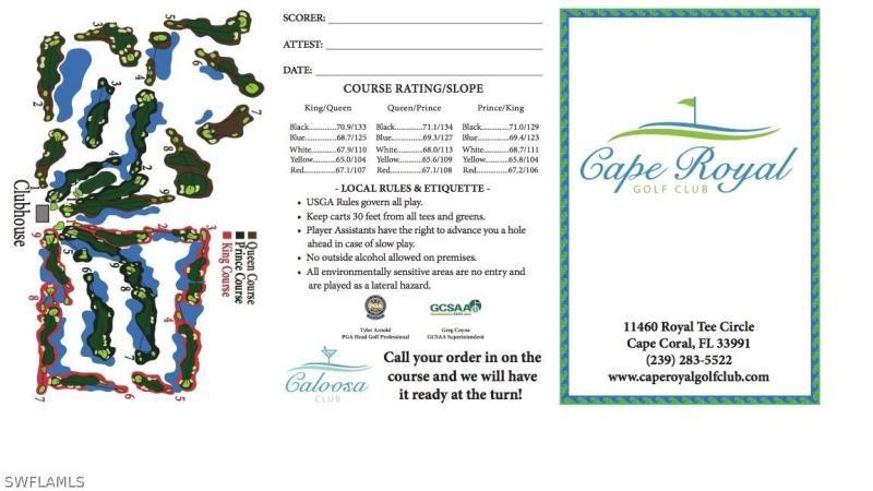 605 Sw 39th Avenue, Cape Coral, Fl 33991