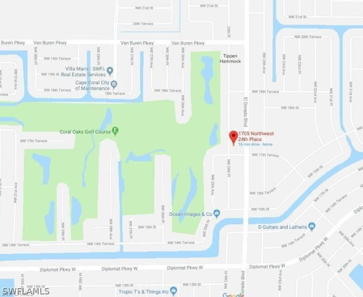 1705 Nw 24th Place, Cape Coral, Fl 33993