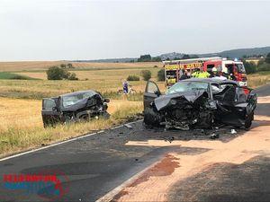 +++ Einsatz Nr: 79 - Verkehrsunfall, eingeklemmte Person +++