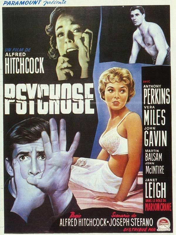 Psychose 1960 MULTi 1080p Bluray mkv (Hitchcock)