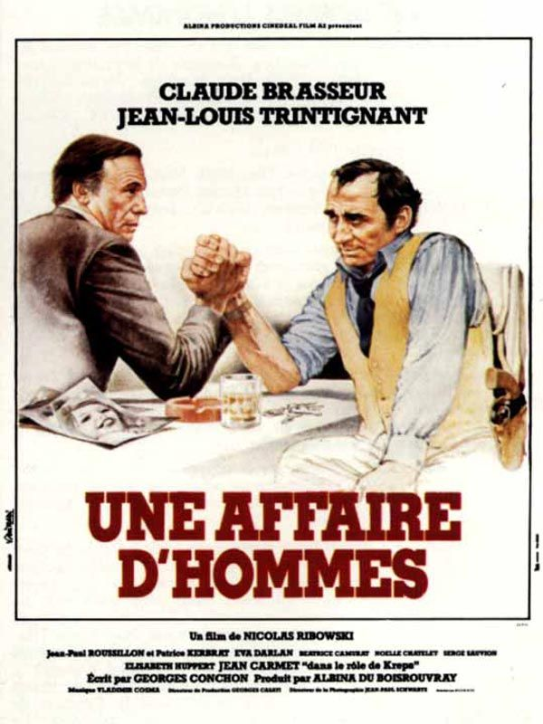 Une Affaire D'Hommes 1981 FRENCH VHSRip MP3-TAD™