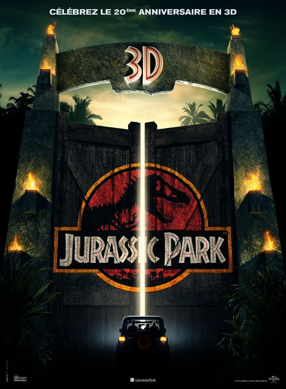Jurassic Park 3D 1993 Full BluRay Multi True French ISO 3D BDR50 MPEG-4 DTS-HD High-Res FreexOptique
