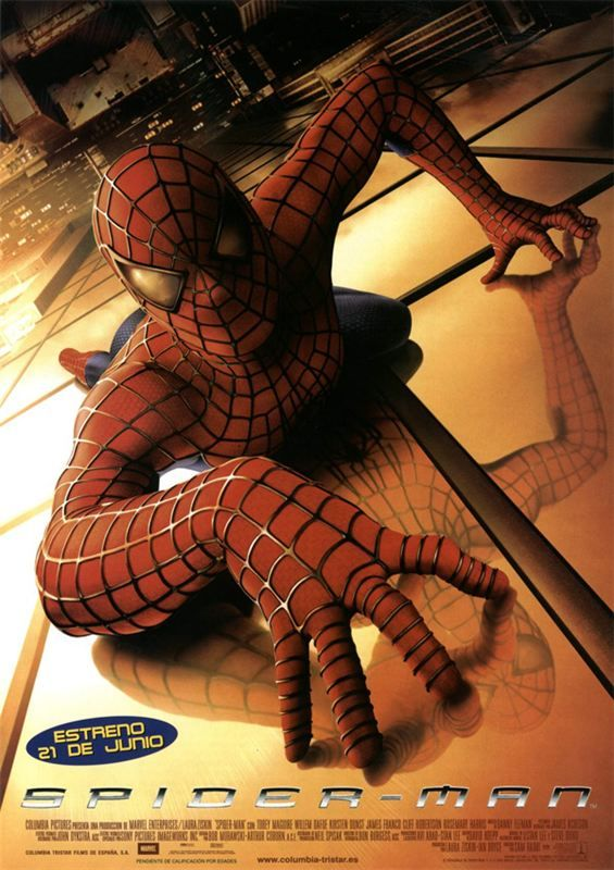 Spiderman 1 2002 BluRay Remux True French ISO BDR25 MPEG-4 AVC Dolby Digital FreexOptique