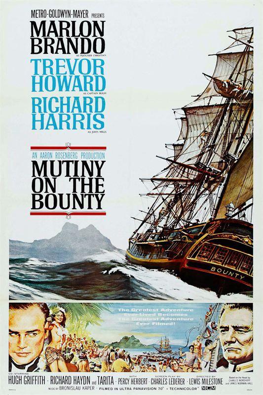 LES REVOLTES DU BOUNTY 1962 True French 1080p BluRay ISO BDR25 MPEG-4 AVC Dolby Digital FreexOptique txt