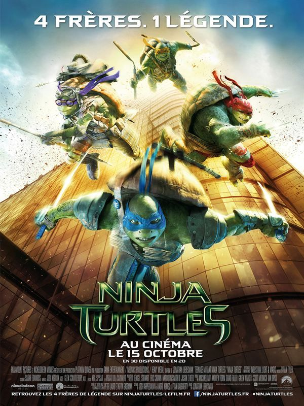 Tortues Ninja 3D 2014 True French Full Blu-Ray 3D 1080p ISO 3D BDR50 MPEG-4 AVC Dolby TrueHD/Atmos FreexOptique