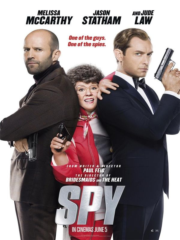 Spy (2015) MULTi VFF 2160p 10bit 4KLight HDR10 BluRay x265 AC3 5 1 Portos