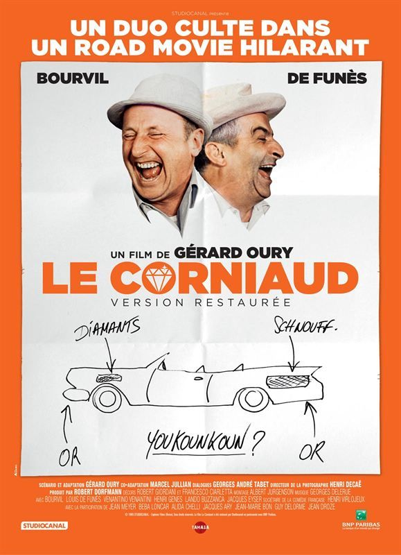 Le Corniaud 1965 Full BluRay True French ISO BDR25 MPEG-4 AVC DTS-HD Master FreexOptique