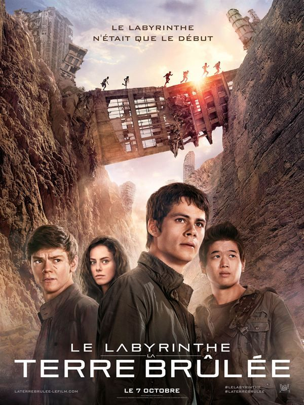 Le Labyrinthe La Terre Brûlée 2015 MULTI VFF 1080p 10Bit BluRay 6CH x265 HEVC (Maze Runner The Scorch Trials)