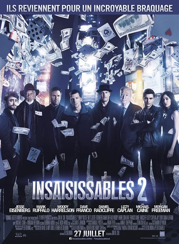 Now You See Me 2 2016 TRUEFRENCH BDRip XViD-FUNKKY   (Insaisissables 2)