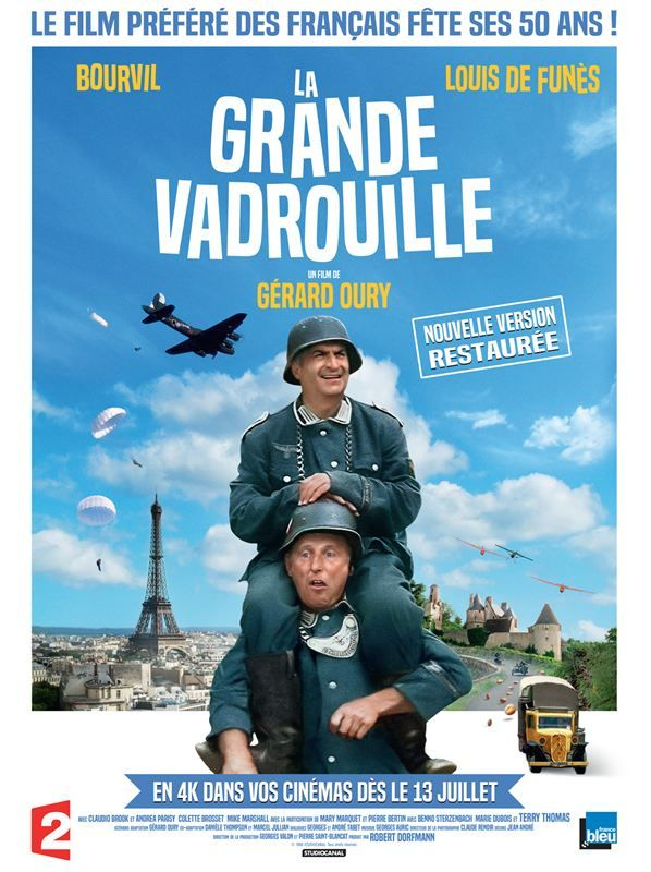 La Grande Vadrouille 1966 Full BluRay True French ISO BDR25 VC-1 DTS-HD Master FreexOptique