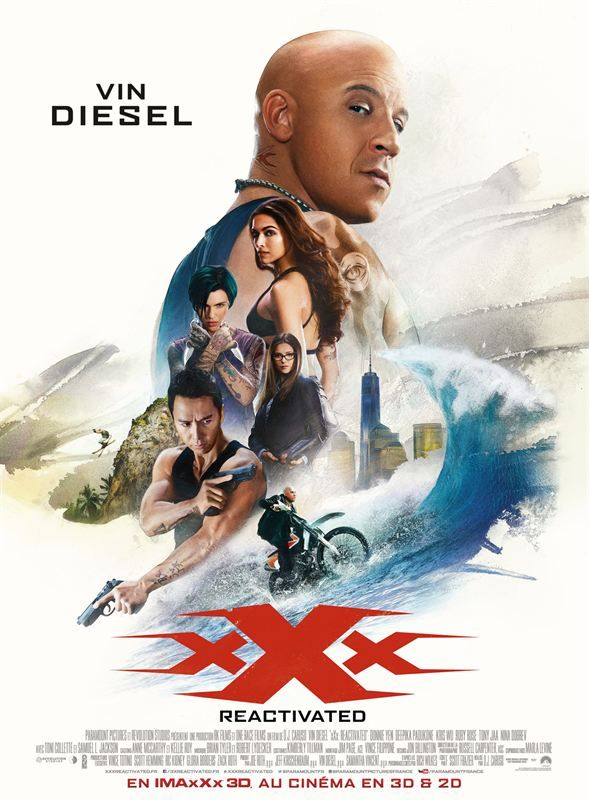 xXx Reactivated 3D 2017 BluRay 3D Multi True French ISO 3D BDR25 MPEG-4 AVC Dolby Digital FreexOptique