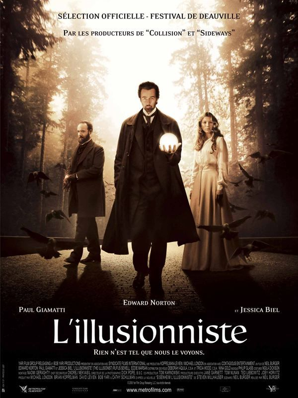 The Illusionist 2006 TRUEFRENCH DVDRip DTS x264-PiCKLES