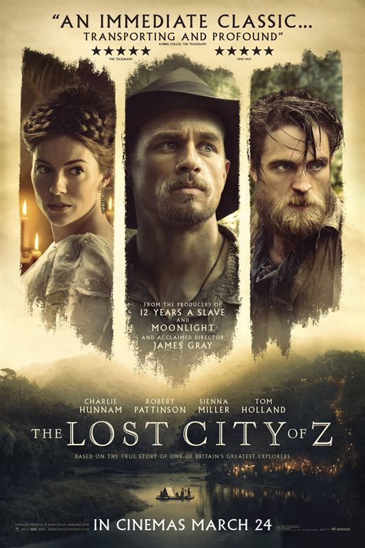 The lost city of Z (2016) 1080p Remux Bluray DTS-Vincentimes