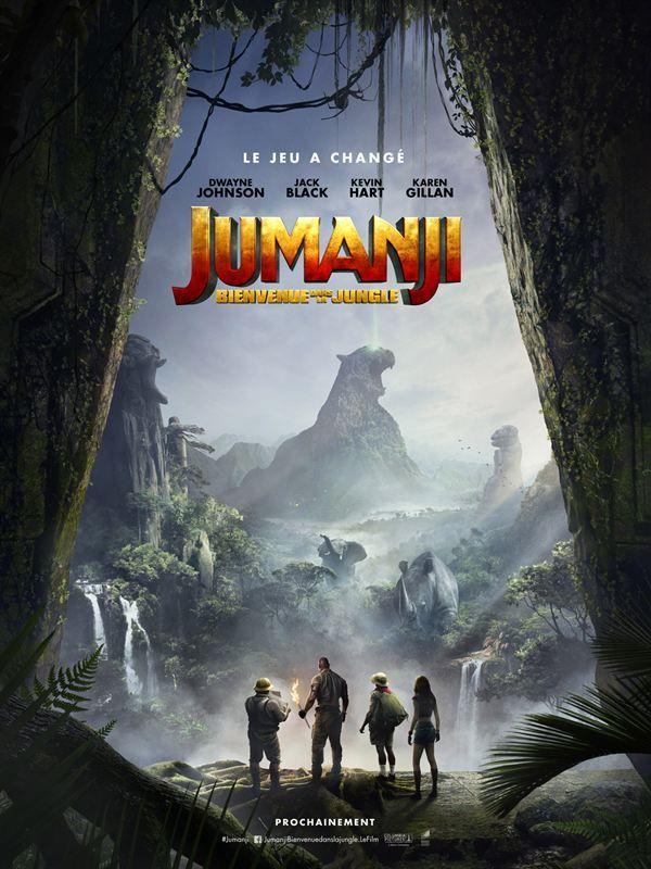 Jumanji (2017) Bienvenue dans la Jungle [HDrip 2160p HDR x265][MULTI VFF VO 5 1 DTS-HDMA]-telemO (Welcome to the Jungle)