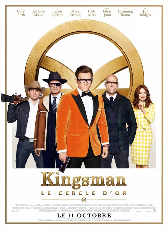 Kingsman 2 Le cercle d'or 2017 french BluRay 1080p DTS x265 10Bits