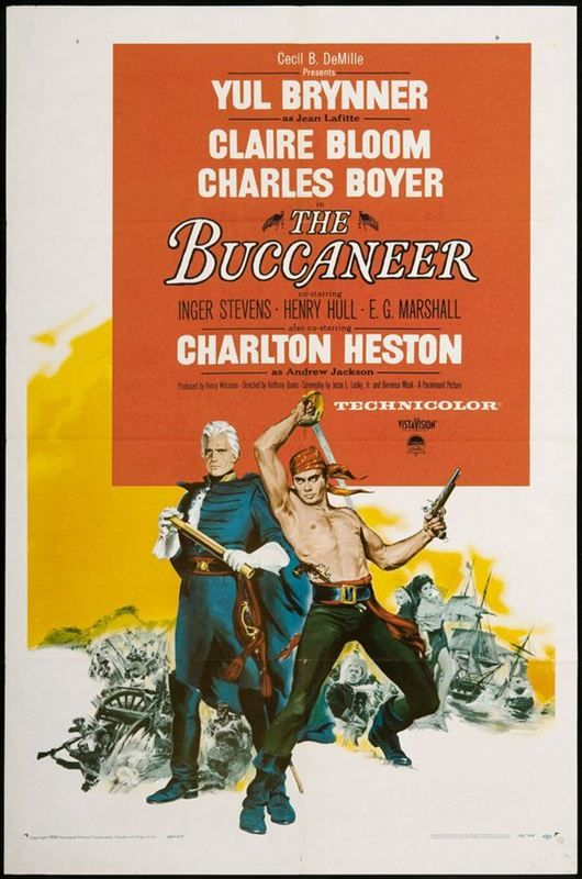 Les Boucaniers 1958 FRENCH 1080p WEBRip AVC x264-TAD™[The buccaneer]