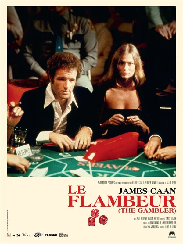 Le Flambeur (The Gambler) 1974 MULTi 1080p AMZN WEBRip x265 AC3-2 0-BLANK-Dread-Team