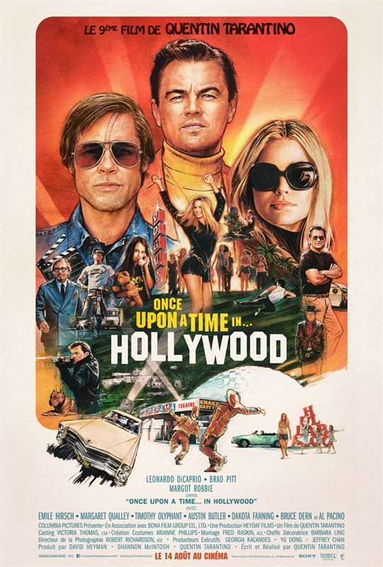 Once Upon a Time in Hollywood 2019 FRENCH HDRip x264-EXTREME