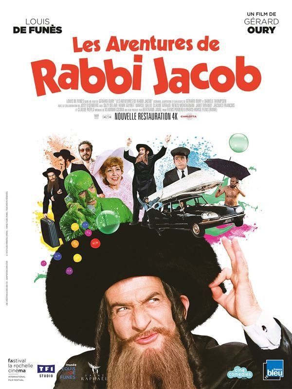 Les aventures de Rabbi Jacob 1973 HDLight 1080p FR x264 ac3 BigZT