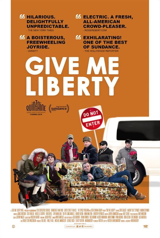 Give Me Liberty 2019 VOST 1080p WebRip x264