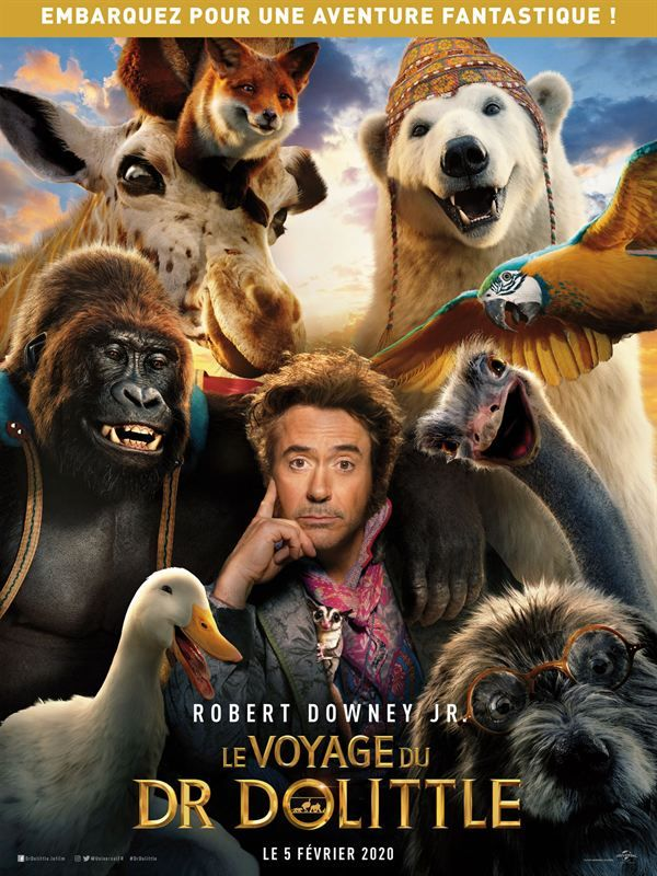 Dolittle 2020 FRENCH 720p BluRay x264 AC3-Akebono