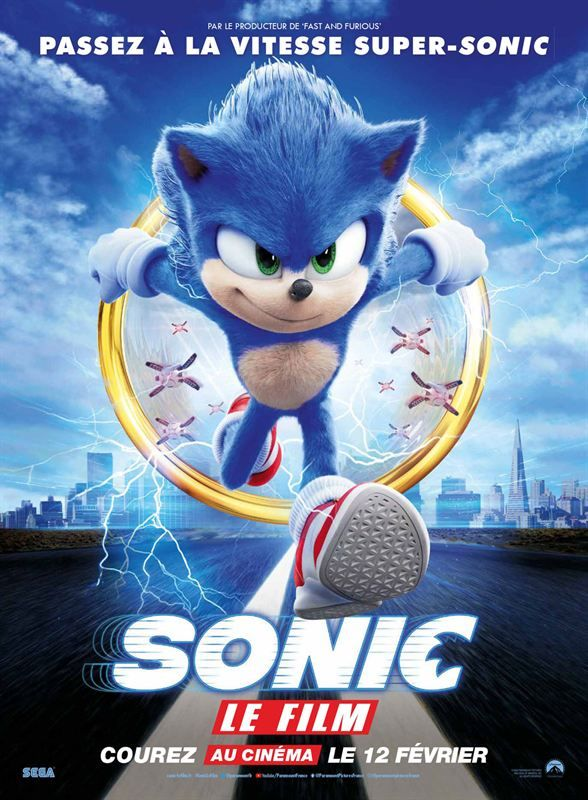 Sonic The Hedgehog 2020 FRENCH 720p WEB H264