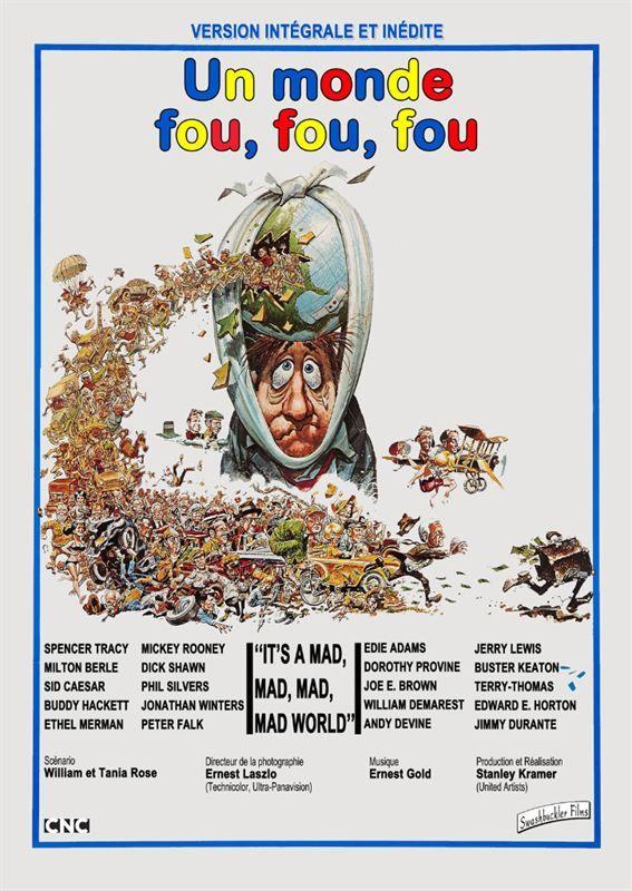 Un Monde fou, fou, fou, fou 1963 MULTi 1080p BluRay X265 DTS 5 1