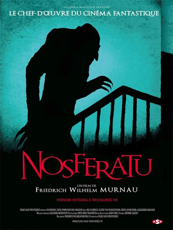 Nosferatu le vampire(version restauré) 1922 Vostfr Web DL 720p aac h264 mp4 Volta