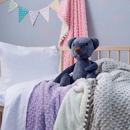 Κουβέρτα Βρεφική Desire Lilac Palamaiki