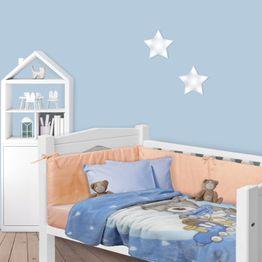 Κουβέρτα Βρεφική 6609 Velour Blue Das Home