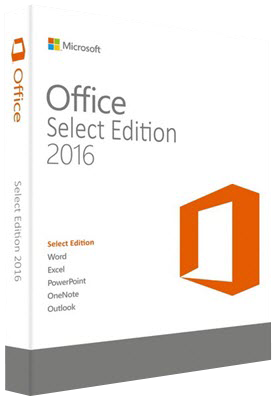 Microsoft Office Select Edition 2016 VL v16.0.4966.1000 - Febbraio 2020 - ITA