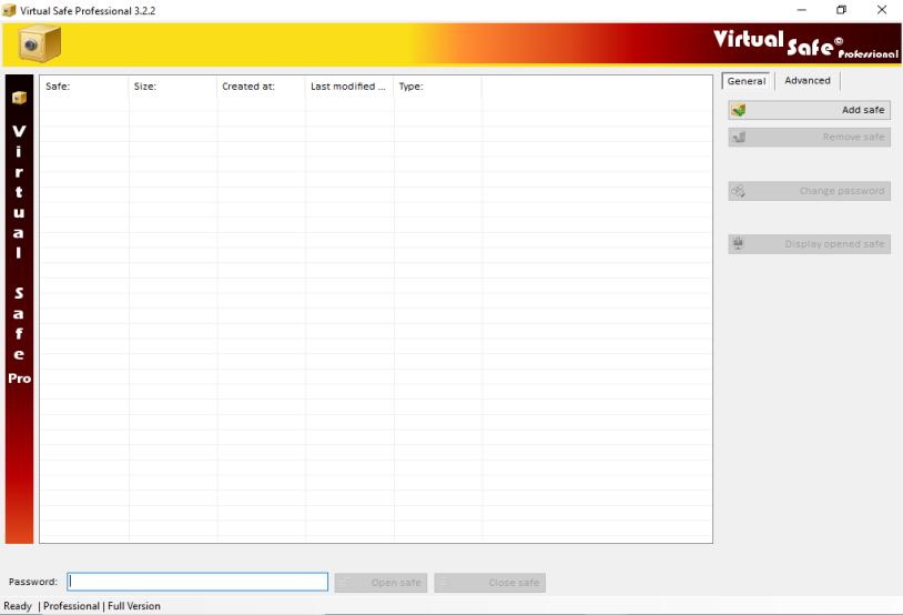 Virtual Safe Professional 3.2.2 - ENG