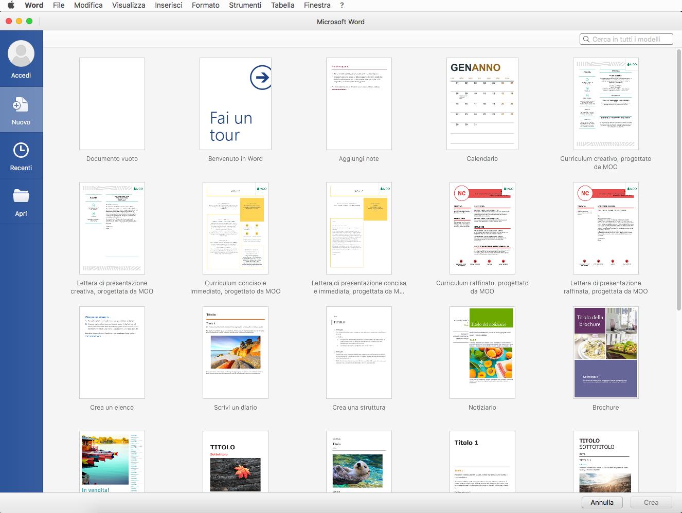 [MAC] Microsoft Office 2019 VL v16.36 macOS - ITA