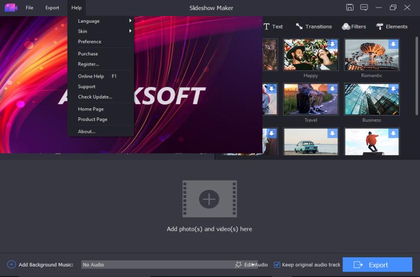 Apeaksoft Slideshow Maker v1.0.18 - Eng