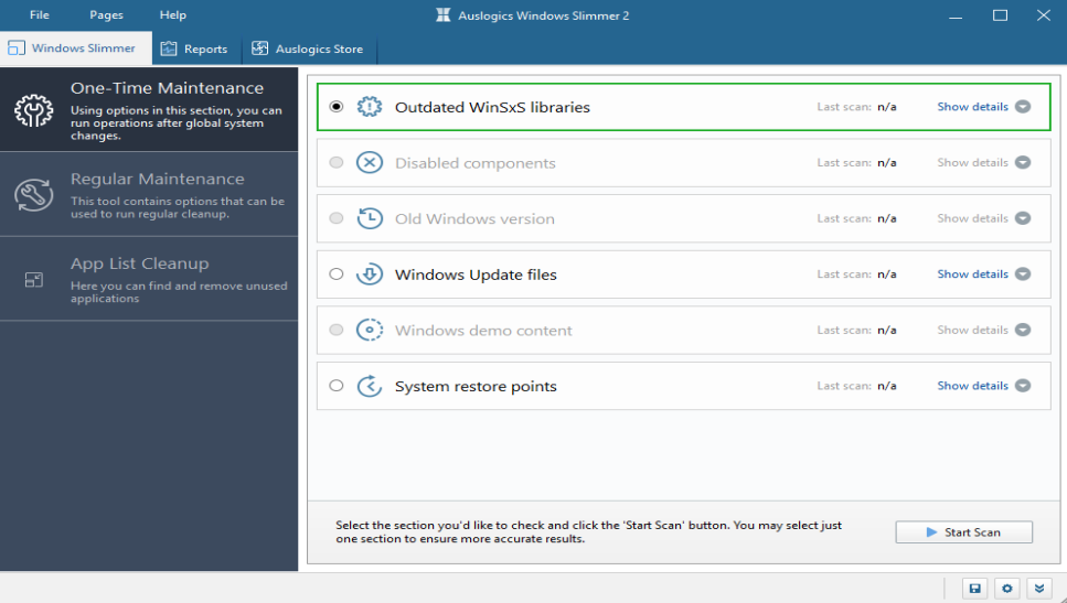 Auslogics Windows Slimmer Professional 2.2.0.1 - ENG
