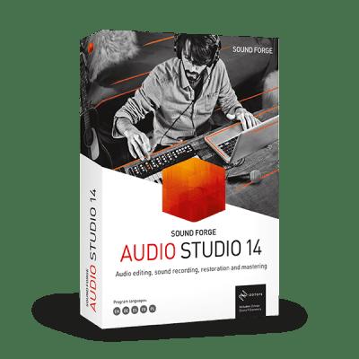 MAGIX SOUND FORGE Audio Studio v14.0.56 x64 - ENG