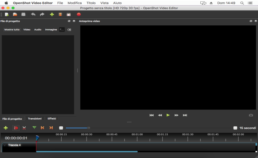 [MAC] OpenShot Video Editor 2.5.0 macOS - ITA