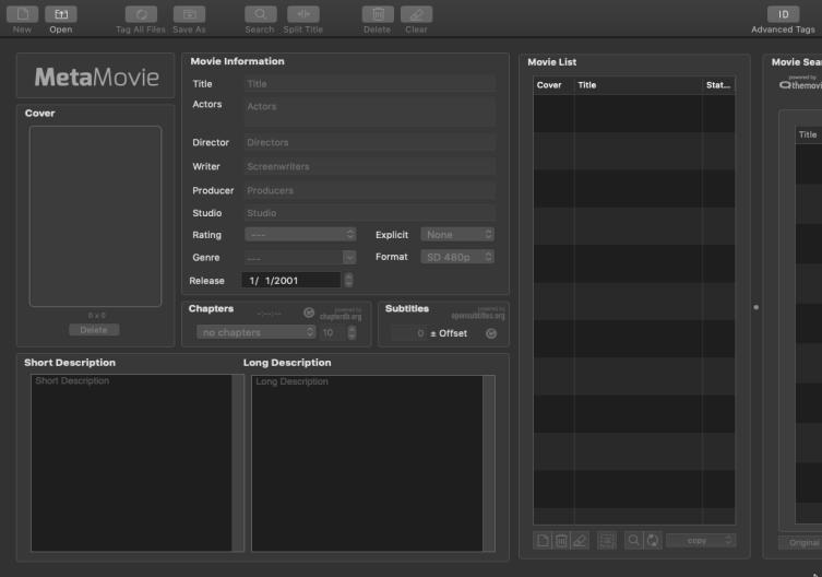 [MAC] MetaMovie 2.4.2 macOS - ENG